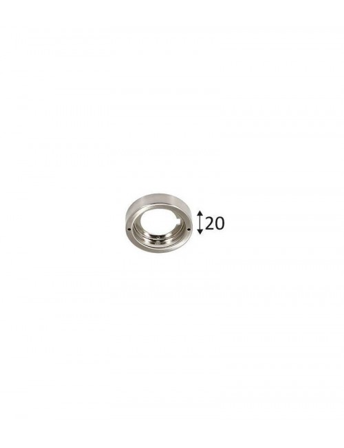Indigo KALI R-230 B base ronde nickel satiné