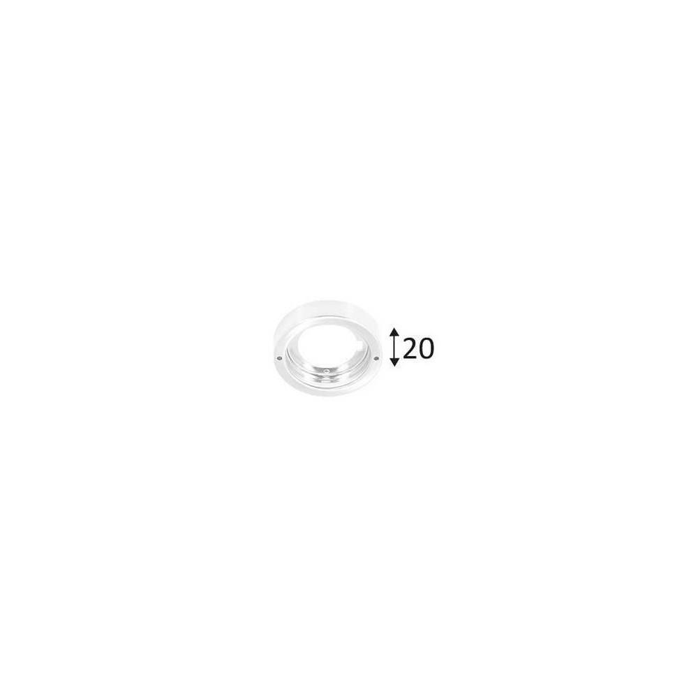 Indigo KALI R-230 B base ronde blanc mat