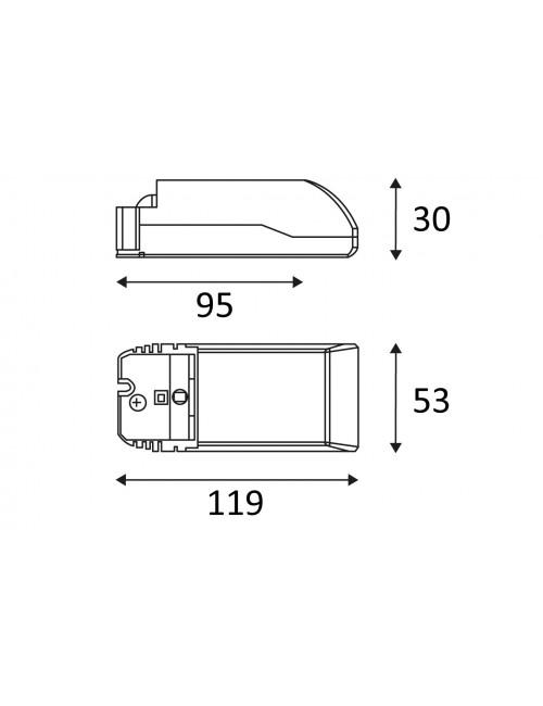 Indigo convertisseur dimmable CD123