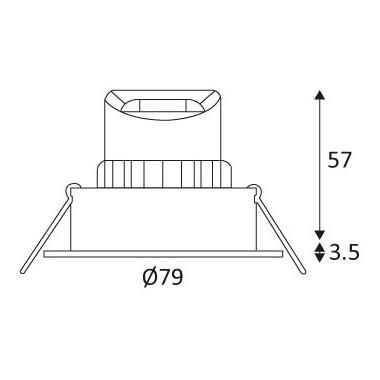 Indigo HD1014 R-230 (non dimmable)