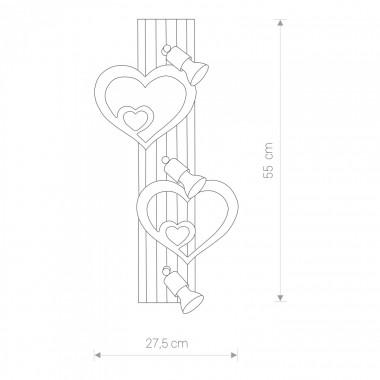 Applique HEART III 9063