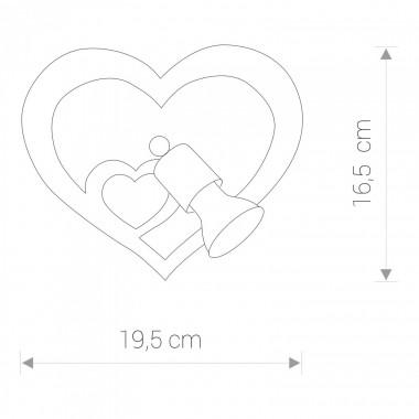 Applique HEART 9062