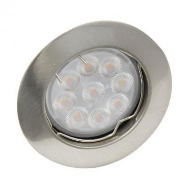 Spot fixe - aluminium brossé