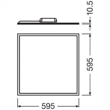 Ledvance Panel LED 60x60cm