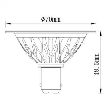 Noxion Lucent Spot LED AR70...