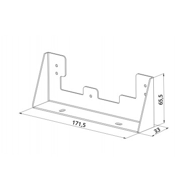 View Blanc Support de meubles Acier