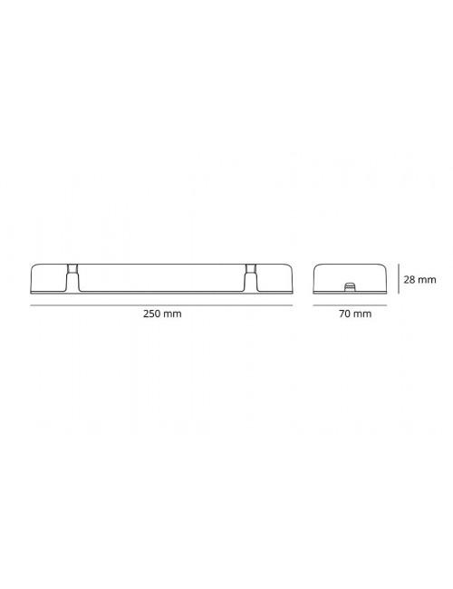 Alimentation 20W (1-10V/Push DIM)