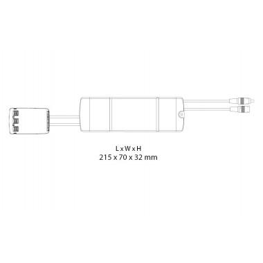 Sense TW Noir 4000lm 42W Tunable White DALI Type 8
